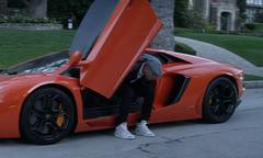 Chris Brown Drives His Aventador in Fine China [Video]
