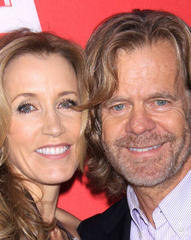 William H. Macy and Felicity Huffman helping Oklahoma tornado victims