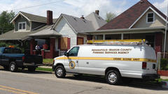 IMPD investigates home on Indianapolis southeast side