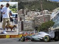 Monaco Grand Prix: Nico Rosberg and Lewis Hamilton lead the way for Mercedes in Thursday practice