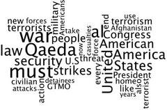 Full Text And Wordcloud Of Obama's Don't Drone Me, Bro Speech