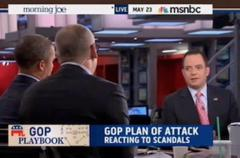 RNC Chair Spars With MSNBC's Heilemann Over IRS: 'Don't Need To Plead The Fifth If You've Done Nothing Wrong'