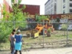 williamsburg community garden bulldozed by city