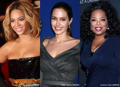 beyonce knowles, angelina jolie and oprah winfrey among forbes' most powerful women