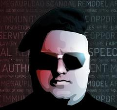Kim DotCom Says Google, Twitter, Facebook Infringes On His Two Step Security Patent