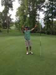avid golfer makes two holes in one in nearby finleyville