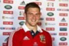 dan lydiate's back and in the mood to fire for the lions: best of luck, australia