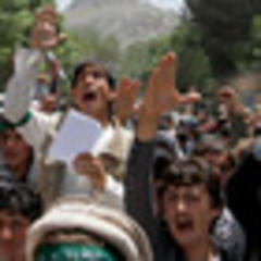 Afghan students protest women's rights decree